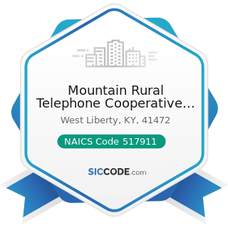 Mountain Rural Telephone Cooperative Corp - NAICS Code 517911 - Telecommunications Resellers