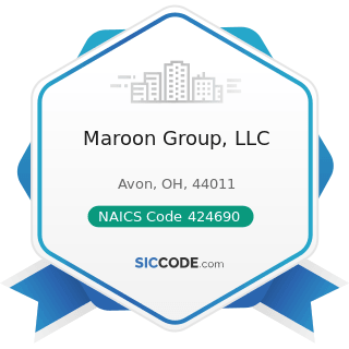 Maroon Group, LLC - NAICS Code 424690 - Other Chemical and Allied Products Merchant Wholesalers