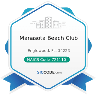 Manasota Beach Club - NAICS Code 721110 - Hotels (except Casino Hotels) and Motels