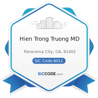 Hien Trong Truong MD - SIC Code 8011 - Offices and Clinics of Doctors of Medicine