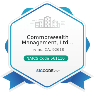Commonwealth Management, Ltd Liability Co - NAICS Code 561110 - Office Administrative Services