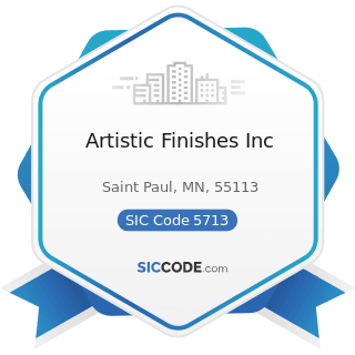 Artistic Finishes Inc - SIC Code 5713 - Floor Covering Stores