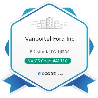 Vanbortel Ford Inc - NAICS Code 441110 - New Car Dealers