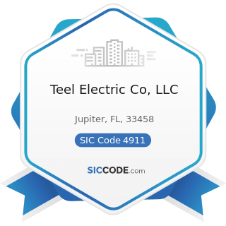 Teel Electric Co, LLC - SIC Code 4911 - Electric Services