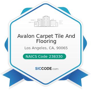 Avalon Carpet Tile And Flooring - NAICS Code 238330 - Flooring Contractors