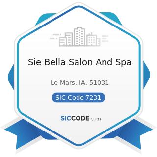 Sie Bella Salon And Spa - SIC Code 7231 - Beauty Shops