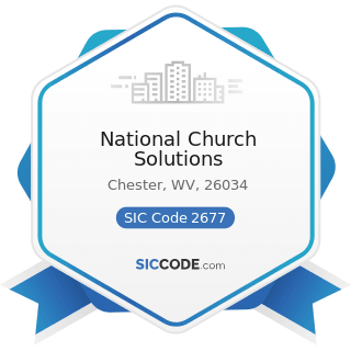 National Church Solutions - SIC Code 2677 - Envelopes