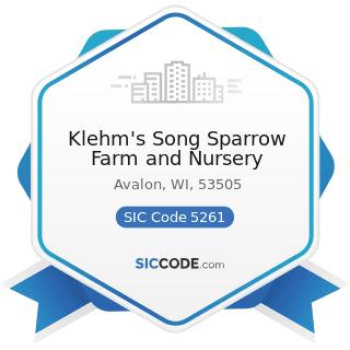 Klehm S Song Sparrow Farm And Nursery
