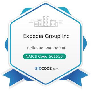 Expedia Group Inc - NAICS Code 561510 - Travel Agencies