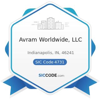 Avram Worldwide, LLC - SIC Code 4731 - Arrangement of Transportation of Freight and Cargo