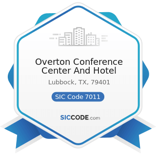 Overton Conference Center And Hotel - SIC Code 7011 - Hotels and Motels