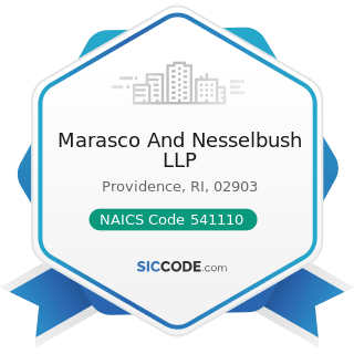 Marasco And Nesselbush LLP - NAICS Code 541110 - Offices of Lawyers