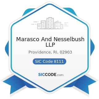 Marasco And Nesselbush LLP - SIC Code 8111 - Legal Services
