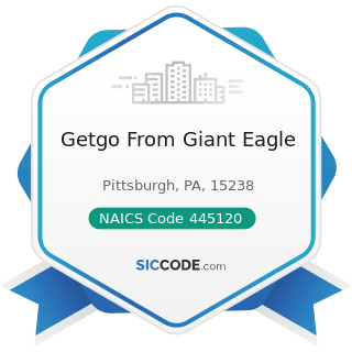 Getgo From Giant Eagle - NAICS Code 445120 - Convenience Stores