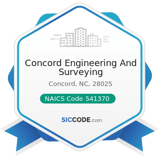 Concord Engineering And Surveying - NAICS Code 541370 - Surveying and Mapping (except...