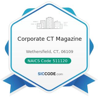 Corporate CT Magazine - NAICS Code 511120 - Periodical Publishers