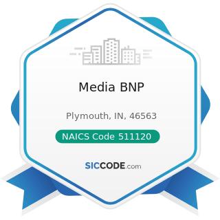 Media BNP - NAICS Code 511120 - Periodical Publishers