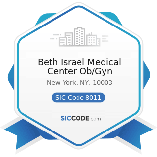 Beth Israel Medical Center Ob/Gyn - SIC Code 8011 - Offices and Clinics of Doctors of Medicine