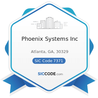 Phoenix Systems Inc - SIC Code 7371 - Computer Programming Services