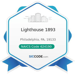 Lighthouse 1893 - NAICS Code 624190 - Other Individual and Family Services