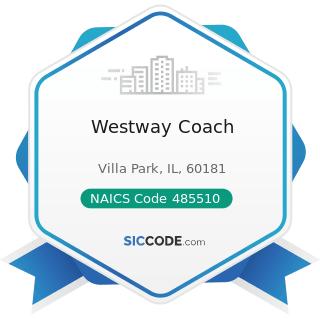 Westway Coach - NAICS Code 485510 - Charter Bus Industry