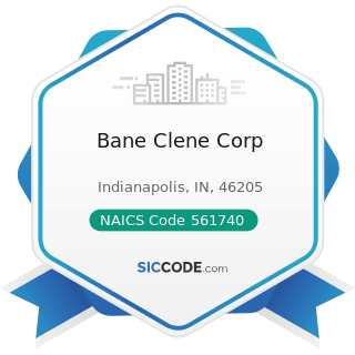 Bane Clene Corp - NAICS Code 561740 - Carpet and Upholstery Cleaning Services