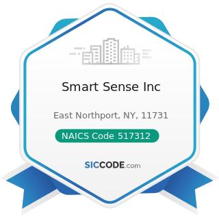 Smart Sense Inc - NAICS Code 517312 - Wireless Telecommunications Carriers (except Satellite)