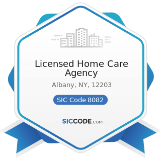 Licensed Home Care Agency - SIC Code 8082 - Home Health Care Services