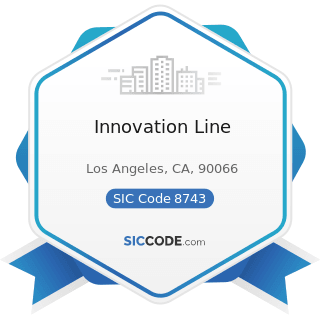 Innovation Line - SIC Code 8743 - Public Relations Services