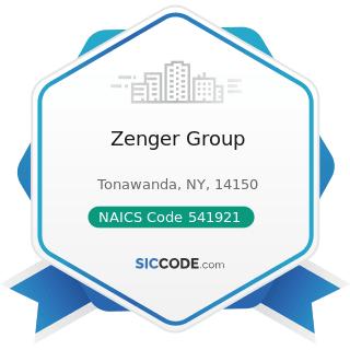 Zenger Group - NAICS Code 541921 - Photography Studios, Portrait