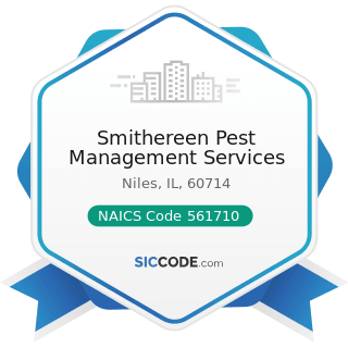 Smithereen Pest Management Services - NAICS Code 561710 - Exterminating and Pest Control Services