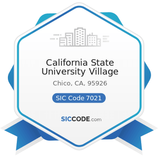 California State University Village - SIC Code 7021 - Rooming and Boarding Houses