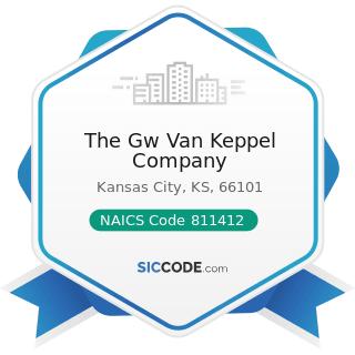 The Gw Van Keppel Company - NAICS Code 811412 - Appliance Repair and Maintenance