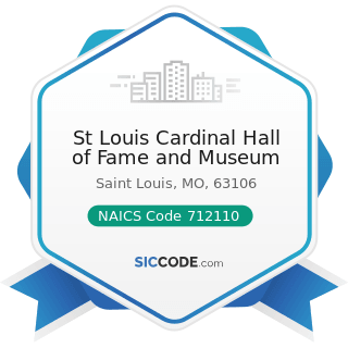 St Louis Cardinal Hall of Fame and Museum - NAICS Code 712110 - Museums
