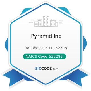 Pyramid Inc - NAICS Code 532283 - Home Health Equipment Rental