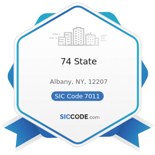74 State - SIC Code 7011 - Hotels and Motels