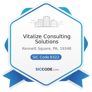 Vitalize Consulting Solutions - SIC Code 8322 - Individual and Family Social Services