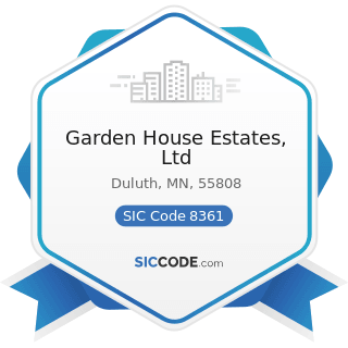 Garden House Estates, Ltd - SIC Code 8361 - Residential Care