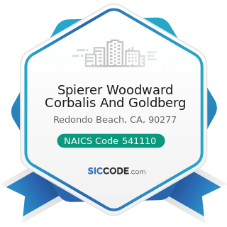 Spierer Woodward Corbalis And Goldberg - NAICS Code 541110 - Offices of Lawyers