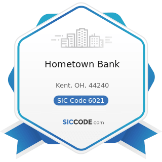 Hometown Bank - SIC Code 6021 - National Commercial Banks