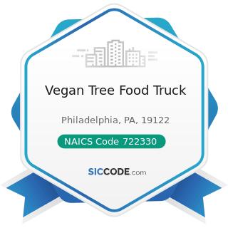 Vegan Tree Food Truck - NAICS Code 722330 - Mobile Food Services