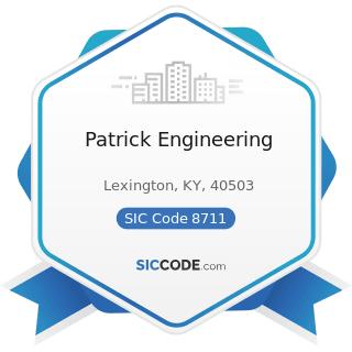Patrick Engineering - SIC Code 8711 - Engineering Services