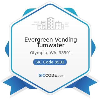 Evergreen Vending Tumwater - SIC Code 3581 - Automatic Vending Machines