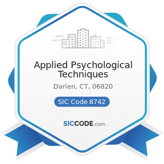 Applied Psychological Techniques - SIC Code 8742 - Management Consulting Services