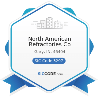 North American Refractories Co - SIC Code 3297 - Nonclay Refractories