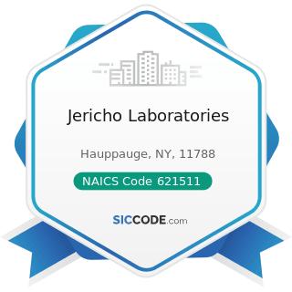 Jericho Laboratories - NAICS Code 621511 - Medical Laboratories