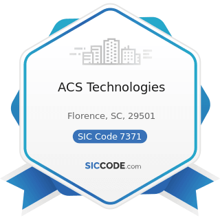 ACS Technologies - SIC Code 7371 - Computer Programming Services