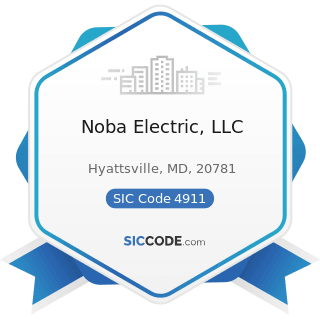 Noba Electric, LLC - SIC Code 4911 - Electric Services