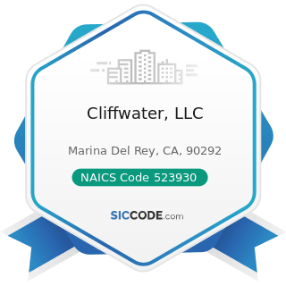 Cliffwater, LLC - NAICS Code 523930 - Investment Advice