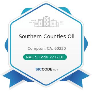 Southern Counties Oil - NAICS Code 221210 - Natural Gas Distribution